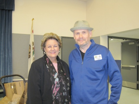 Our HSP was visited by County Supervisor Doreen Farr