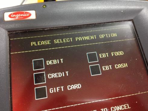 Visa, Mastercard, American Express...or EBT?