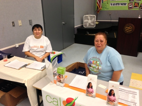 Our wonderful Calfresh volunteers