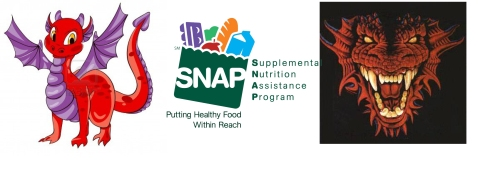 Is the Supplemental Nutrition Assistance Program a cute, friendly little dragon or a mean fire-breathing dragon?